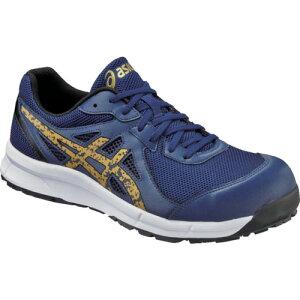 ASICS(アシックス) 作業靴 ウィンジョブCP106 インディゴXゴールド 27.5cm FCP106.4994-27.5
