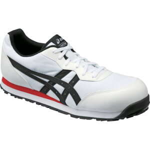 ASICS(アシックス) 作業靴 ウィンジョブ CP201 ホワイト×ブラック 22.0cm FCP201.0190-22.0