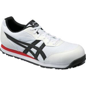 ASICS(アシックス) 作業靴 ウィンジョブ CP201 ホワイト×ブラック 26.5cm FCP201.0190-26.5