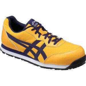 ASICS(アシックス) 作業靴 ウィンジョブ CP201 ゴールド×アストラルオーラ 26.0cm FCP201.0433-26.0