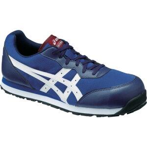 ASICS(アシックス) 作業靴 ウィンジョブ CP201 インディゴブルー×ホワイト 23.5cm FCP201.4901-23.5
