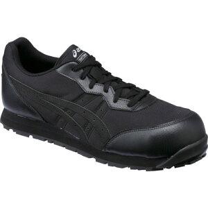 ASICS(アシックス) 作業靴 ウィンジョブ CP201 ブラック×ブラック 27.5cm FCP201.9090-27.5