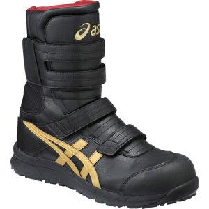 ASICS(アシックス) 作業靴 ウィンジョブ CP401 ブラック×ゴールド 26.0cm FCP401.9094-26.0