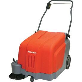 【直送】【代引不可】アマノ 手押し路面清掃機 クリーンパワー HM-500E