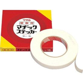 マサル工業 モール専用テープ マヂックステッカー 壁面用 18mm幅 18-KMS