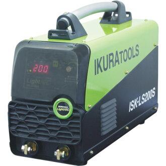 育良 (salmon roe) direct current inverter arc welder light arc (40062) ISK-LS200ST