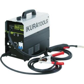 Inverter half automatic welding machine 200V (40058) ISK-SA120P 育良 (salmon roe)