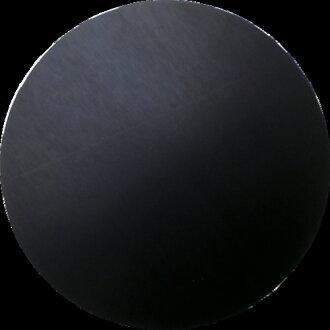 WAKI (Waki Sangyo) environment-conscious rubber sheet thickness 1mm φ 100mm black KGS-016
