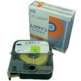 MAX(マックス) チューブマーカー レタツイン テープカセット5mm幅 黄 LM-TP305Y