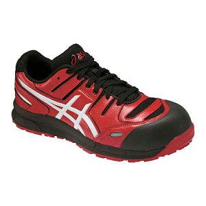 アシックス 作業靴 ウィンジョブCP103 レッドXホワイト 25.5cm FCP103.2301-25.5