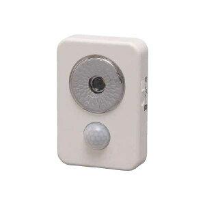 【直送】【代引不可】 IRIS(アイリスオーヤマ) 乾電池式LED屋内センサーライト ハンディタイプ ISL3HN-W