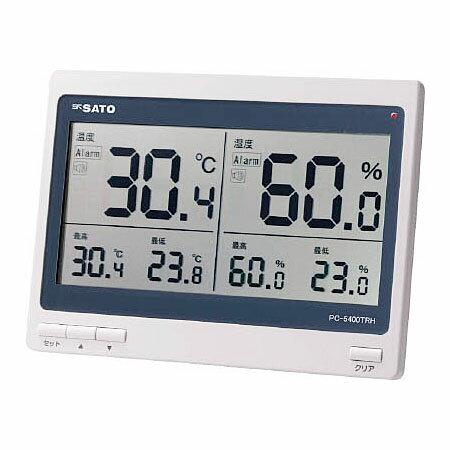 佐藤計量器製作所 デジタル温湿度計 PC-5400TRH