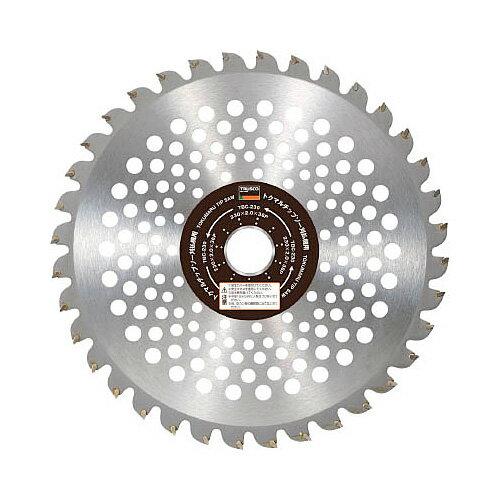 TRUSCO(トラスコ) トクマルチップソー刈払機用 230X25.4X36P 1枚入