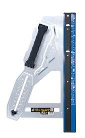 シンワ測定 丸ノコガイド定規 エルアングル Plus シフト 45cm 寸勾配切断機能付 79052