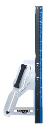 シンワ測定 丸ノコガイド定規 エルアングル Plus シフト 1m 寸勾配切断機能付 79054