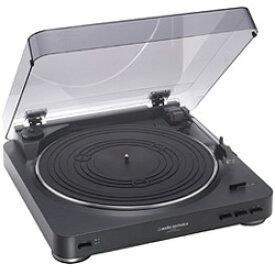 オーディオテクニカ audio-technica AT-PL300 BK [ステレオターンテーブルシステム ブラック]※基本送料無料(沖縄・離島別)