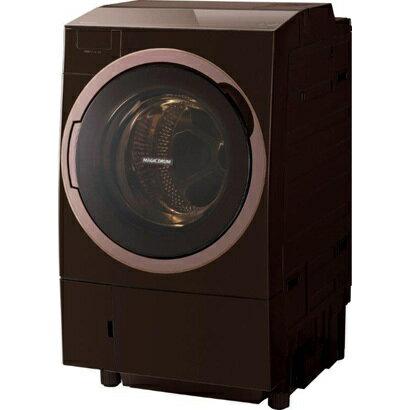 東芝 TOSHIBA TW-117X5L(T) [ドラム式洗濯乾燥機 (11.0kg) 左開き Bigマジックドラム グレインブラウン]※送料無料