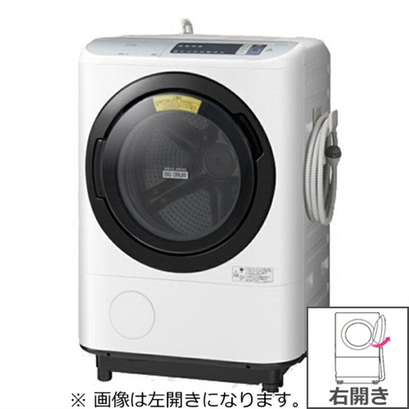 日立 HITACHI BD-NV110AR W [ビッグドラム ドラム式洗濯乾燥機(11.0kg) 右開き ホワイト]※送料無料