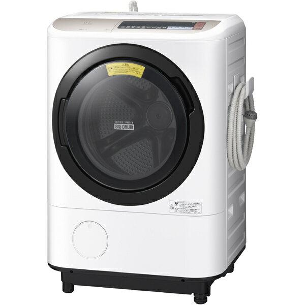 日立 HITACHI BD-NX120BL N [ドラム式洗濯乾燥機 12kg 左開き シャンパン]※基本送料無料(沖縄・離島別)