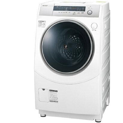 シャープ SHARP ES-H10B-WL [ドラム式プラズマクラスター洗濯乾燥機 (10kg) 左開き ホワイト系]※基本配送料無料(沖縄・離島別)