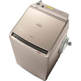 日立 HITACHI BW-DV100C N [ビートウォッシュ タテ型洗濯乾燥機 (10kg) シャンパン]※基本配送料無料(沖縄・離島別)