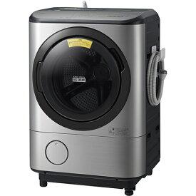 日立 HITACHI BD-NX120CL S [ドラム式洗濯乾燥機 12kg 左開き ステンレスシルバー ビッグドラム(奥行スリムタイプ)]※基本配送料無料(沖縄・離島不可)