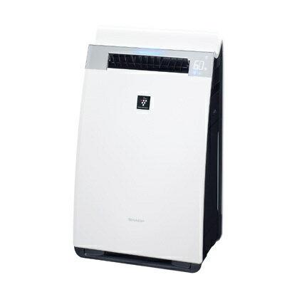 シャープ SHARP KI-GX75-W [高濃度プラズマクラスター25000 加湿空気清浄機 (プラズマクラスター21畳まで 加湿28畳まで 空気清浄34畳まで) ホワイト系]※送料無料