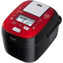 パナソニック Panasonic SR-SPX106-RK [スチーム&可変圧力IHジャー炊飯器 5.5合炊き Wおどり炊き 220℃ IHスチーム ルージュブラック]※送料無料