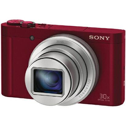 ソニー SONY DSC-WX500 RC [コンパクトデジタルカメラ Cyber-shot(サイバーショット) レッド]※基本送料無料(沖縄・離島別)