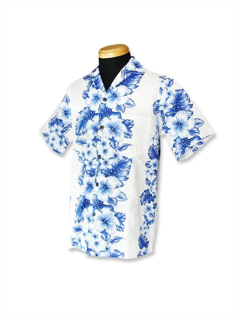【レンタル】アロハシャツ Type A  【7】ホワイト