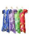 【レンタル】ムームー Type B(お揃いのアロハシャツ有)ハワイ、グァム、沖縄の結婚式に参列する服装にピッタリのムー…