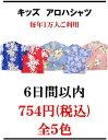 キッズ(子供用) アロハシャツ 全5色 ハワイ・グアム・沖縄挙式、結婚式にピッタリです。