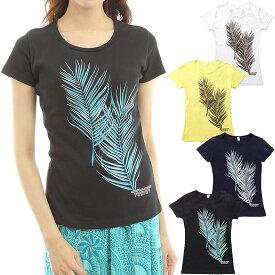 フラダンス Tシャツ 速乾加工 半袖 ココパームス柄 ネコポス対応可