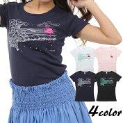フラフラダンスTシャツ速乾加工フライス半袖Hulamingo柄ネコポス対応可