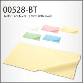 Bath towel (60cm *120cm) plain fabric towel (white / white) of gentle pastel color