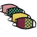 【和風マスク2枚セット】 メール便送料無料 子ども キッズ 女の子 男の子 大人 洗える ハロウィン マスク コスチ…