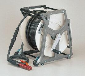 ハタヤ EDR-3022 溶接ケーブルリール 30m HJ-338Rホルダーセット キャスター付