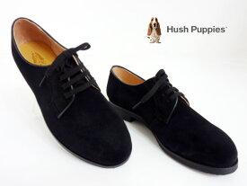 Hush Puppies(ハッシュパピー)L-220FX/クロ【送料無料】レディース/カジュアルシューズ/コンフォート/レースアップシューズ/オックスフォード/正規取扱店