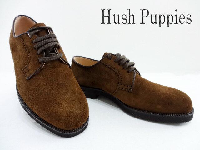 Hush Puppies(ハッシュパピー)M-120FX/ソイソース【送料無料】【定番デザイン】メンズカジュアルシューズ/コンフォートシューズ/ゆったり幅/正規販売店