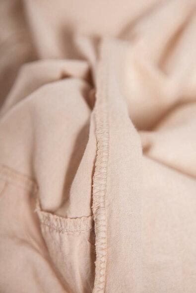 【全4色】ワンピースロングワンピースベージュベイジ肌色半袖フード付き刺繍レースコットン100%綿100%天然素材全身袖襟裾見せゴージャスエレガントセレブ愛用春夏春夏春服夏服