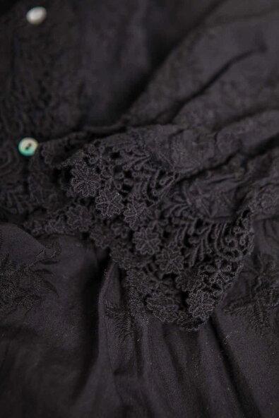 【全3色】ワンピースロングワンピース【ブラック黒色】