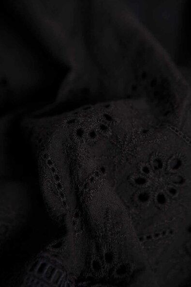 【全2色】ワンピースロングワンピース【ブラック黒色】