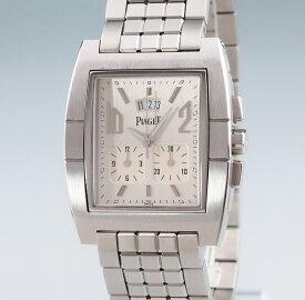 【3年保証】 ピアジェ Piaget/アップストリーム クロノ GOA28008 27150 クォーツ メンズ ウォッチ 腕時計 シルバー 【中古】 【店頭受取対応商品】
