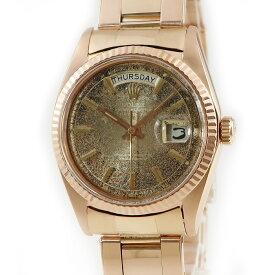 ロレックス ROLEX デイデイト 1803/5 1番 K18PG無垢 メンズ 腕時計自動巻き ゴールド 【中古】【店頭受取対応商品】