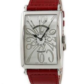 フランクミュラー FRANCK MULLER ロングアイランド 1200SC 限定100本 メンズ 腕時計自動巻き シルバー 【中古】【店頭受取対応商品】