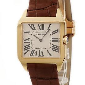 カルティエ Cartier サントスデュモン W2008751 未使用 K18YG無垢 メンズ ユニセックス 腕時計手巻き ベージュ 【中古】【店頭受取対応商品】