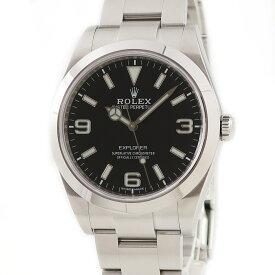 ロレックス ROLEX エクスプローラー1 214270 ランダム番 メンズ 腕時計自動巻き ブラック 【中古】【店頭受取対応商品】