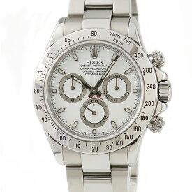 ロレックス ROLEX コスモグラフ デイトナ 116520 Y番 白 メンズ 腕時計自動巻き ホワイト 【中古】【店頭受取対応商品】