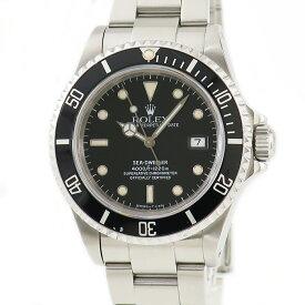 ロレックス ROLEX シードゥエラー 16600 OH済 N番 トリチウム メンズ 腕時計自動巻き ブラック 【中古】【店頭受取対応商品】