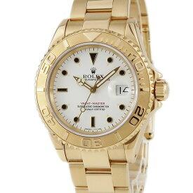 ロレックス ROLEX ヨットマスター 16628 K18YG無垢 トリチウム X番 メンズ 腕時計自動巻き 【中古】【店頭受取対応商品】